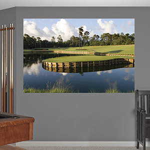 PGA TOUR TPC Sawgrass Hole 17 Mural Fathead Wall Decal